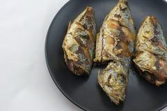 рыбы зажарили Стоковые Фотографии RF