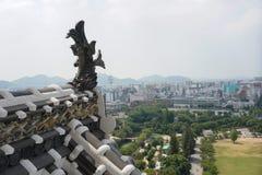 Рыбы замка Himeji стоковое фото