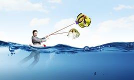 Рыбы задвижки большие Стоковая Фотография RF