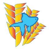 Рыбы игрушки Стоковые Изображения