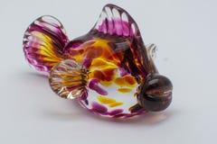 Рыбы изваянные стеклом Стоковые Фото