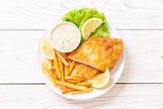 рыбы и обломоки стоковые фотографии rf
