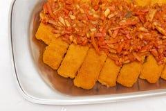 рыбы морковей Стоковое Изображение