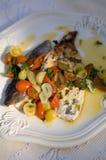рыбы обеда Стоковое Фото