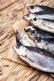 Рыбы посоленные пуком Стоковое Изображение RF