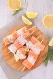 рыбы сырцовые Стоковое Изображение