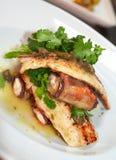 рыбы тарелки Стоковая Фотография