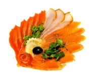 рыбы тарелки Стоковое Изображение RF