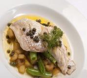 рыбы тарелки Стоковые Фото