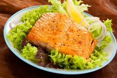 рыбы тарелки Стоковое фото RF