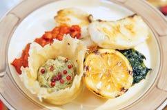 рыбы тарелки Стоковое Фото