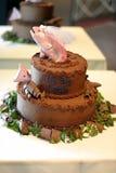 рыбы торта Стоковое Изображение RF