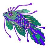 Рыбы фантазии декоративные, пастельный цвет бесплатная иллюстрация
