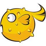 рыбы характера Стоковые Фотографии RF