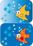 Рыбы шаржа. Стоковое Фото