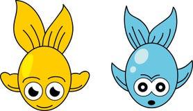 Рыбы шаржа. Стоковые Фотографии RF
