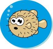 Рыбы шаржа. Стоковое Изображение