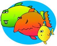 рыбы 3 иллюстрация штока