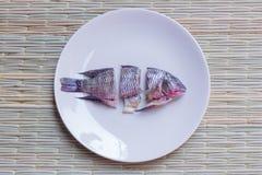 Рыбы Choped Стоковое Изображение RF
