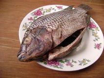 Рыбы Crucian для варить Стоковые Фото