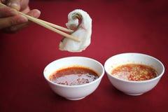 Рыбы Sukiyaki Стоковые Изображения RF