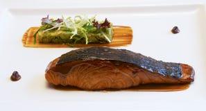 Рыбы Teriyaki Стоковые Изображения RF