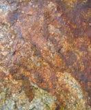 рыжеватая текстура утеса Стоковая Фотография RF