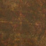 Рыжеватокоричневой помытая кислотой кожаная текстура печати Стоковое Изображение RF