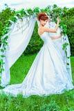 Рыжеволосая невеста стоковая фотография
