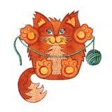 Рыжий кот Стоковая Фотография RF