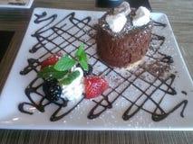 Рык 25/Food - десерт Стоковое Фото