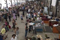 Рынки свежих продуктов Eveleigh, Сидней Стоковое Изображение