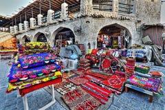 Рынки Souq в Дохе Стоковая Фотография