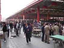 Рынок антиквариата Panjiayuan Стоковые Изображения RF