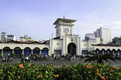 Рынок Бен Thanh в Хошимине Стоковое фото RF