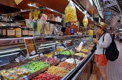 Рынок Валенсии центральный Стоковое Изображение RF
