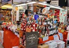 Рынок Валенсии центральный Стоковое Изображение