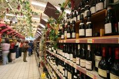 Рынок вина стоковые фотографии rf