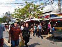 Рынок выходных Chatuchak Стоковое Изображение