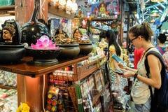 Рынок выходных Jatujak на Бангкоке Стоковые Изображения RF