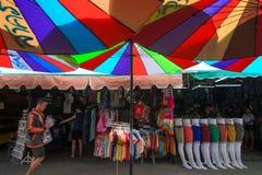 Рынок выходных Jatujak Стоковые Изображения RF