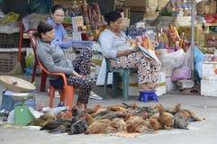 Рынок Вьетнама в Phu Quoc Стоковое фото RF