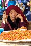 рынок Вьетнам ha хуторянин bac стоковая фотография rf