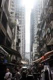 Рынок в Гонконге Стоковое фото RF