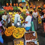 Рынок в Египте Стоковое Изображение RF