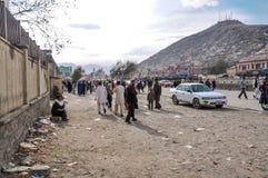 Рынок в Кабуле в Афганистане Стоковая Фотография