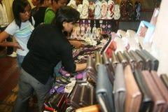 Рынок в ноче malioboro Стоковая Фотография RF
