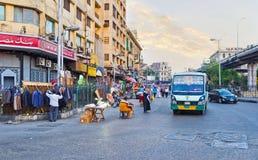 Рынок в подъездной дороге Стоковая Фотография