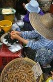 Рынок в Таиланде. Стоковая Фотография