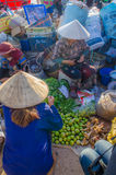Рынок в утре Стоковые Изображения RF